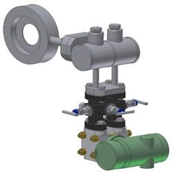 Steemco Flow Meter for Steam
